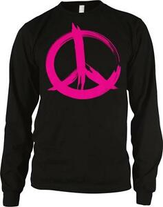 Pink Peace Sign Love Equality Pride Same Rights Hoodie Pullover