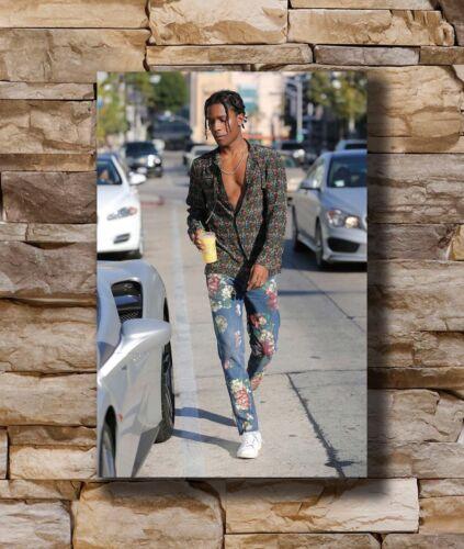 20x30 24x36In N574 Art Poster New ASAP ROCKY American Music  Rap Hip Hop Singer