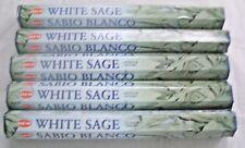 Hem White Sage Incense Bulk 5 x 20 Stick Boxes, 100 Sticks (Cleansing Blessings)