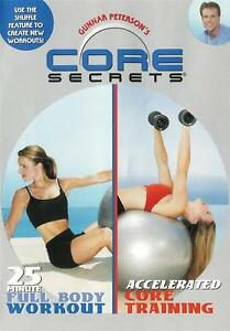 Core-Secrets-Full-Body-Workout-amp-Accelerated-Core-Training-New-Sealed-DVD