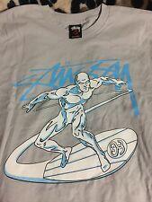 Stussy x Marvel Comics Universe Silver Surfer Sz.S 100% Authentic X-Men Supreme