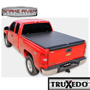 TRUXEDO TRUXSPORT SOFT ROLL UP TONNEAU COVER 15-19 CHEVY GMC 2500 3500 8' BED