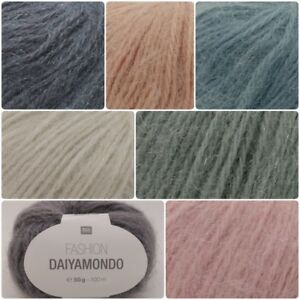 Rico-DAIYAMONDO-Fashion-Chunky-Acrylic-Polyamide-Wool-Metallic-Knitting-Yarn-50g