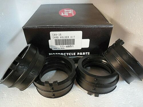 4 pack New Honda 03-06 CBR600RR CBR600 Carb holders intake manifold boots