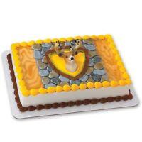 Deer Head Cake Topper Kit