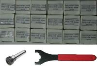 Mt2 M10 Er32 Chuck+18 Pcs Er32 Collets+spanner -