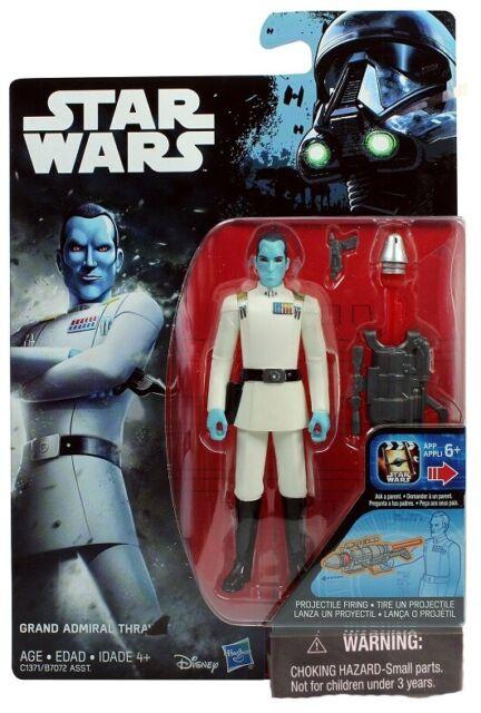 "Star Wars Rebels Grand Amiral Thrawn 3.75/"" FIGURE NEW"
