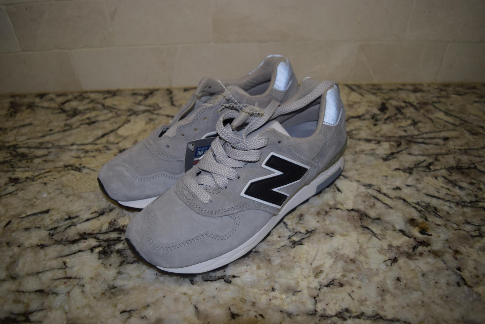 New Balance for JCrew Collab 170 1400 Sneakers Sz 6.5 Raw Steel Grey 35251