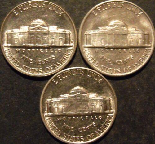 1961-D Jefferson Nickel Choice//Gem BU Uncirculated