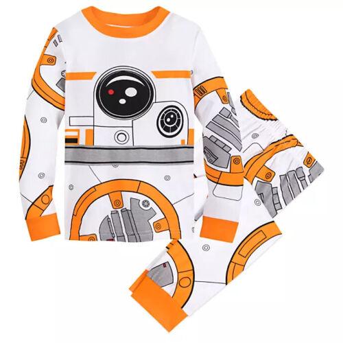 NWT Disney Store Star Wars BB-8 Robot Costume PJ Pals Sleep Set Boys 5 6 7 8 10