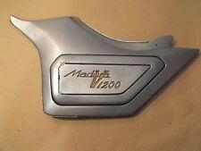 1985 Suzuki GV1200 GV 1200 Madura Left Side Cover Name Plate Cover