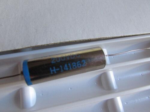 .02uF 5/% Tex-Cap Teflon Flourocarbon Hi End Nickle plated Capacitor Audio 200V