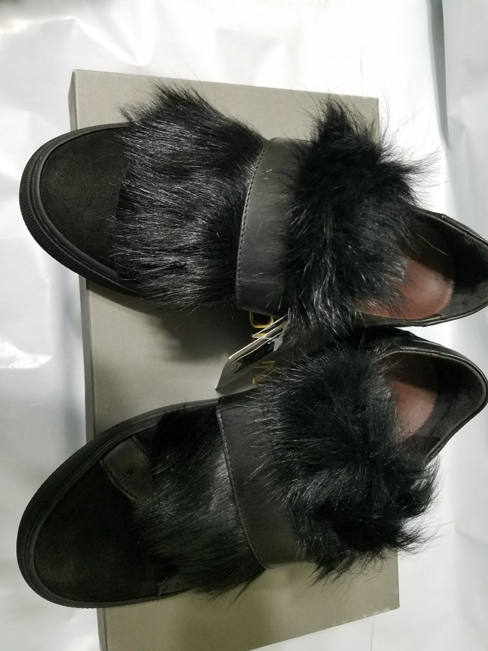 New in Box BOEMOS baskets shearlin Noir Taille Taille Taille 6 178938 MADE IN ITALY bf875d