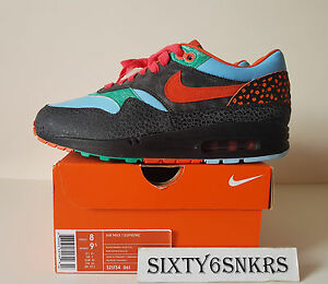 new products ee4cd 9bedd Image is loading Nike-Air-Max-1-Supreme-Tech-Pack-Kabutomushi-
