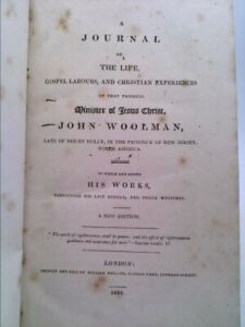 Journal of the Life, Gospel, Labours, and Christian Experiences, of That...
