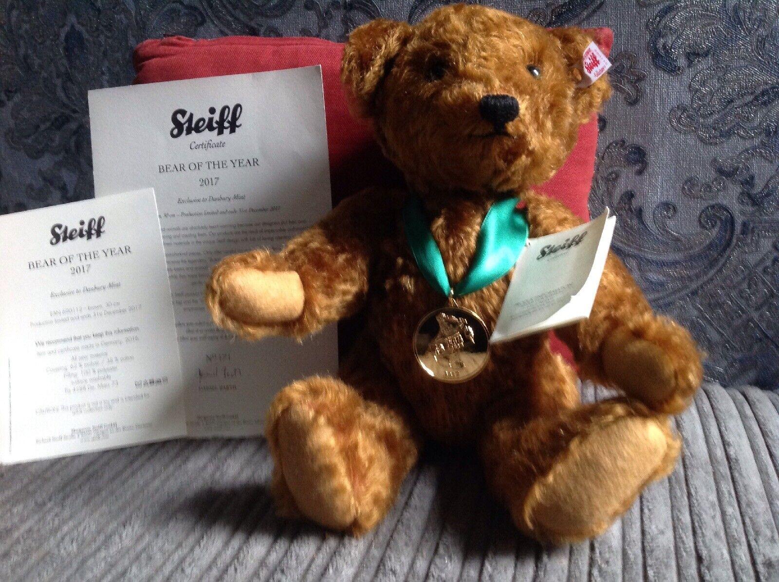 Steiff Bear Of The Year 2017.