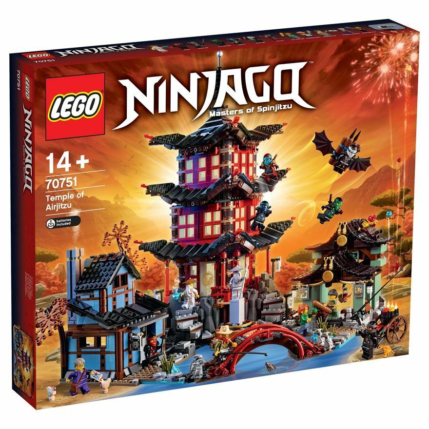 Lego 70751 Ninjago   Le temple de de l'Airjitzu