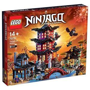 Lego 70751 Ninjago : Le temple de de lAirjitzu