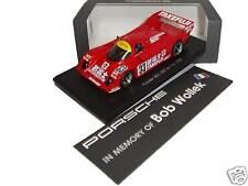 "Porsche 962 ""In memory of Bob Wollek"" 500 km Fuji 1990 - Spark 1:43 - ltd. 1/500"