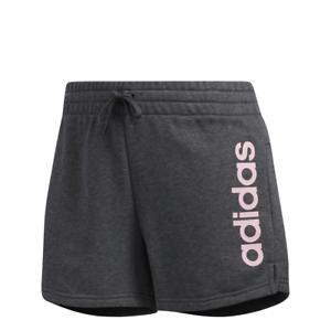tienda de liquidación cc3b0 7475d Detalles de Adidas Mujer Pantalones Cortos Entrenamiento Essentials Lineal  Logo Du0670