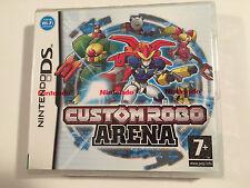 Custom Robo Arena For Nintendo DS & 2DS (New & Sealed)