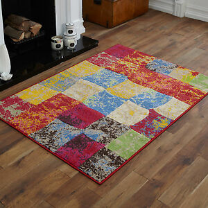 new small large extra large rugs red grey blue pink splash box