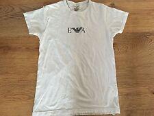 ARMANI Blanco camiseta Tamaño Pequeño