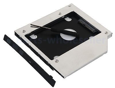 2nd Hard Drive SSD HDD Case Caddy Adapter for Lenovo Z50-75 G50-80 B50-70 B50-80