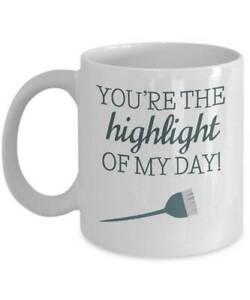 Highlight Of My Day Hairstylist Coffee Mug Hairstylist Mug Hairdresser Gift