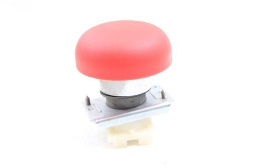 1x Schalter Taster Notaus Notknopf mit Feststeller Stellknopf rot Button