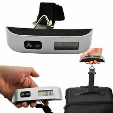 Pasbuy Portable Digital Hanging 110 Pounds Luggage Scale Rubber Paint Tempe P15