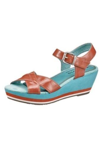 Tamaris Damen Keilabsatz Sandaletten Pumps High Heels Wedeg Sandalen Riemchen