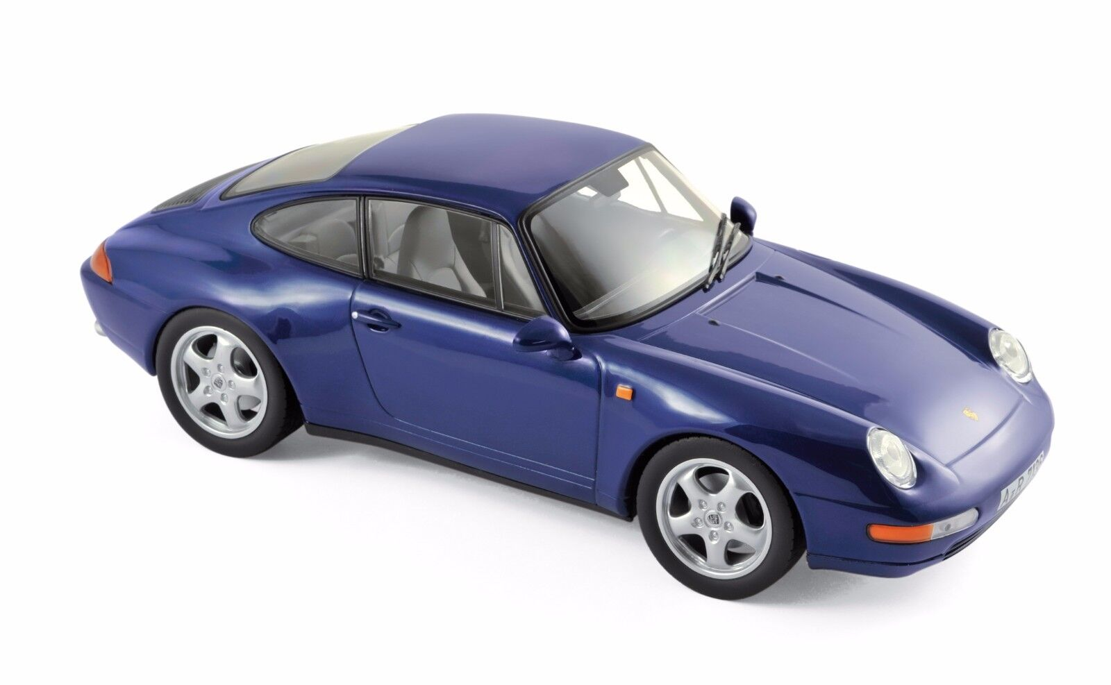 Norev Porsche 911 Carrera 1994 1 18 metallic bluee