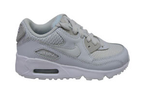 Details zu Kids Nike Air Max 90 Mesh (PS) 833420022 Pure Platinum Trainers