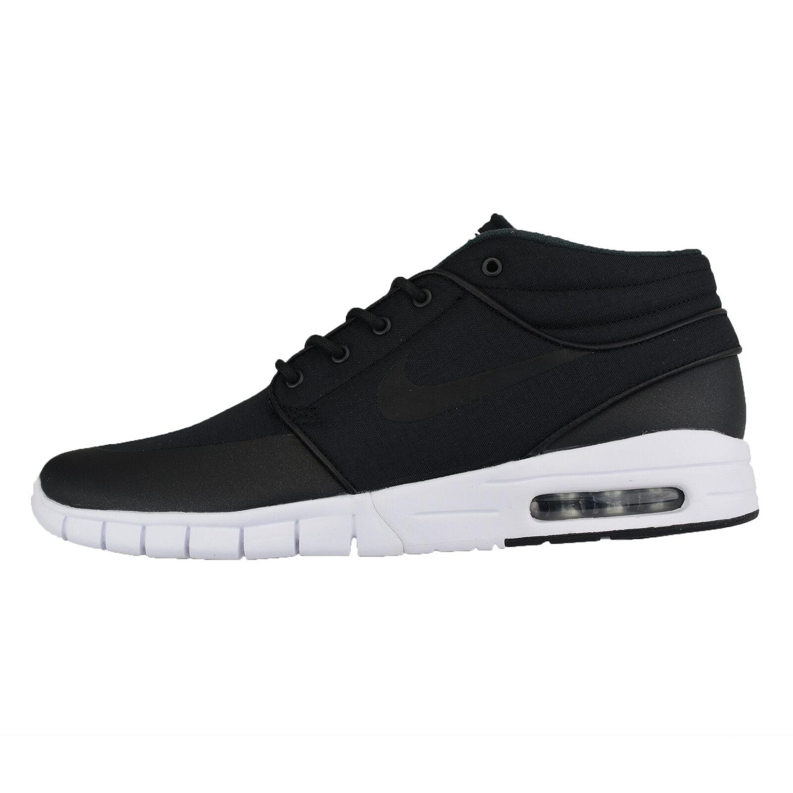 Nike Zoom Stefan Janoski MAX MID 807507-001 Skateboard Lifestyle Shoes Trainers