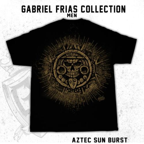 Aztec Sun Burst Distress Gabriel Frias Collection