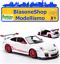Modellino-Fronti-Art-Diecast-Porsche-911-GT3-Rs-1-43-Bianco-Rosso-Auto-Sport-Gt miniatura 1