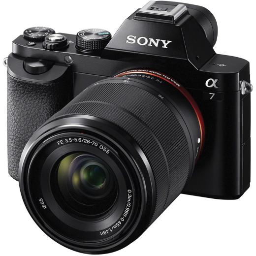 A - Sony Alpha A7 Cadre Complet Appareil Photo Numérique Avec 28-70mm Objectif Des Biens De Chaque Description Sont Disponibles