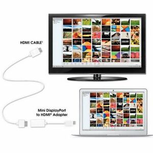 Mini-Display-Port-DP-Thunderbolt-to-HDMI-Adapter-Cable-for-iMAC-Macbook-PRO-Hot