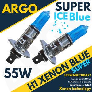 55w-Azul-Hielo-Xenon-H1-448-Bombillas-para-Faros-Frontales-12v