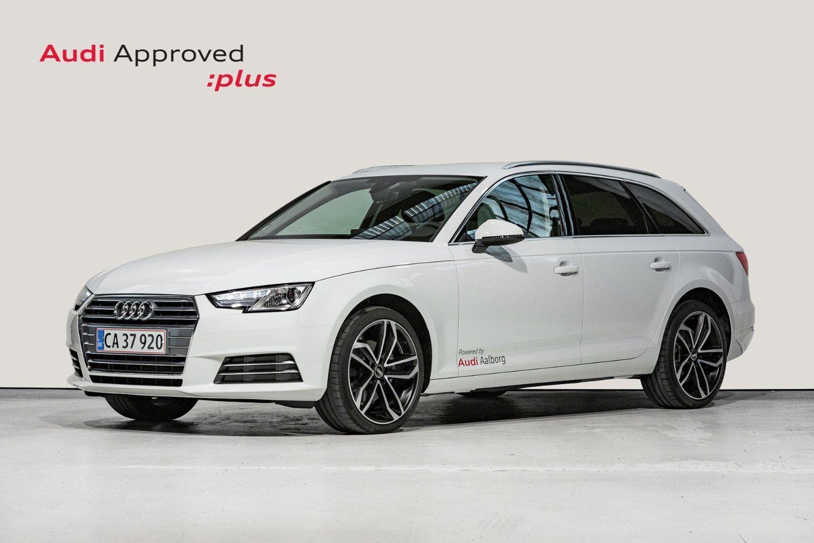 Audi A4 2,0 TDi 150 Sport Avant S-tr. 5d - 415.000 kr.