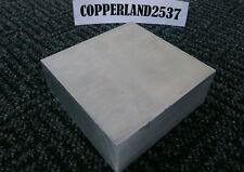 2 X 5 X 5 Long New 6061 T6511 Solid Aluminum Plate Flat Bar Stcck Mill Block