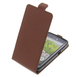 Case-for-Doro-8031-Flipstyle-Cell-Phone-Case-Protective-Case-Flip-Case-Braun