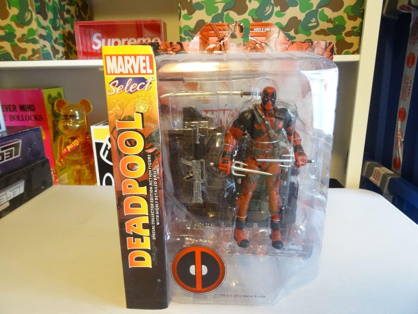 MARVEL SELECT Legends Deadpool X Men Force Wade Wilson Mutant MERCENARY Univers