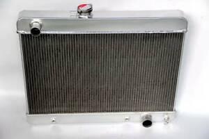 NEW 3 ROWS  ALL ALUMINUM RADIATOR 1965 1966 1967 Pontiac GTO LeMans//Tempest V8