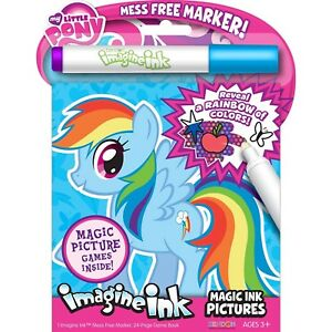 Details about Magic Coloring Book My Little Pony Imagine Ink Marker  Pictures Reveal Fun Game