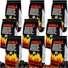 27kg Premium Grillbriketts Buche Holzkohle Grillkohle Holzkohlebriketts Grill