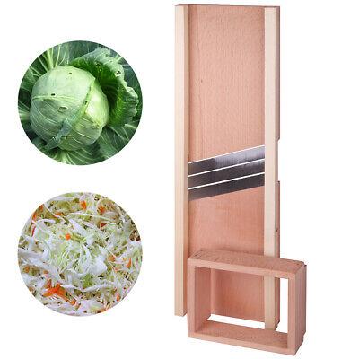 Wooden Mandoline Slicer Cabbage Shredder Vegetable Food Slicer 20 inch 50cm