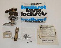 Emhart Kwickset Lockset Lever 300gl Grecian Privacy R9591