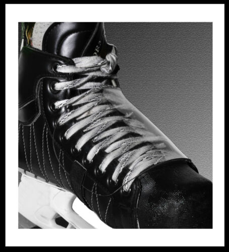 SR JR like the Pros Spats Skate Armour Pro Series Clear Skate Foot Protectors